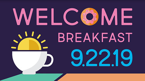 September Welcome Breakfast